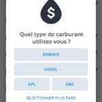 Sygic prix du carburant