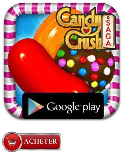 Cartes Candy Crush Saga