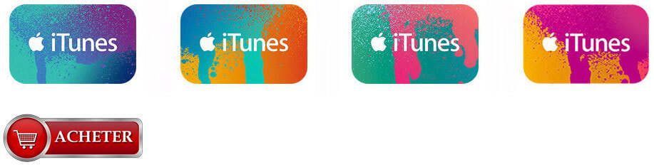 Cartes iTunes Store France