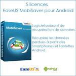 [Concours] 5 licences EaseUS MobiSaver pour Android à gagner