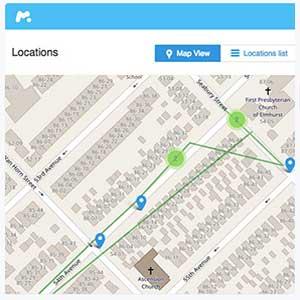 Localiser une personne avec son compte social ou son numéro cellulaire grâce à une application