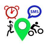Partage de position & alerte de chute par SMS