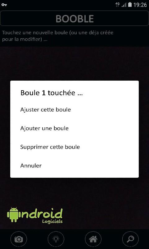 Booble - Mesure distances boules/cochonnet