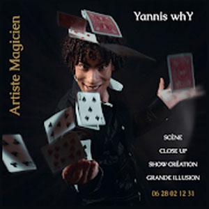 Yannis whY - Artiste Magicien