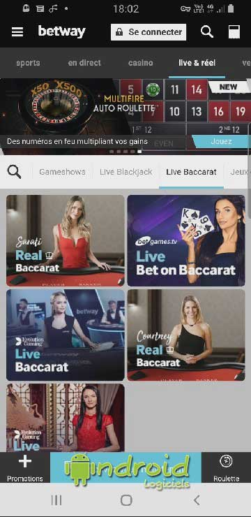 Betway - Sports, Casino et Live Casino