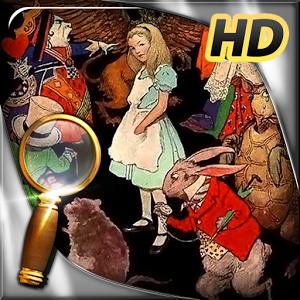Alice au Pays desMerveilles : Le jeu d'objets cachés