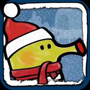 Voici une version spéciale Noël de l'une des applications mobiles les plus addictives et les plus téléchargées de tous les temps, Doodle Jump.