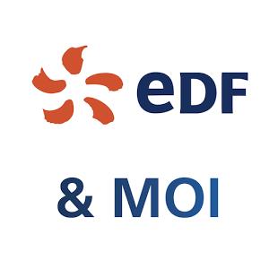 Grâce à l'application EDF & MOI, j'accède à la version mobile de mon espace Client et à des informations pour m'aider à gérer mon contrat d'énergie.
