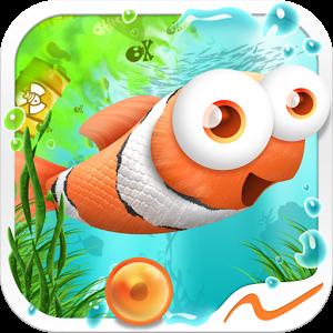 Rejoignez Fin le petit poisson drôle et rapide dans son odyssée, à travers les profondeurs de l'Atlantique !
