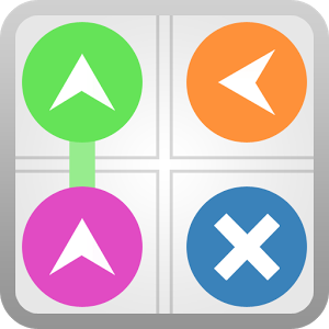 Flux est un jeu offrant 25 groupes de 25 niveaux, soit un total de 625 niveaux. Chacun des niveaux de Flux sont constitués d'une grille en 5x5 remplie avec 4 types de blocs (départ, flèches, murs et arrivée).