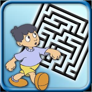 Explorez avec Alex 50 labyrinthes différents avec tous les chemins possibles pour trouver la solution la plus rapide pour sortir des labyrinthes.