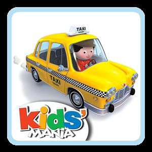 """Tirée de la célèbre collection """"P'tit Garçon"""", l'application """"Le taxi de Rémi"""" permet aux enfants de découvrir le métier de chauffeur de taxi de façon ludique grâce à une amusante histoire interactive."""