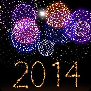 Soyez prêt pour la nouvelle année avec ce fond d'écran animé qui vous permettra de créer et de lancer vos feux d'artifice colorés personnalisés.