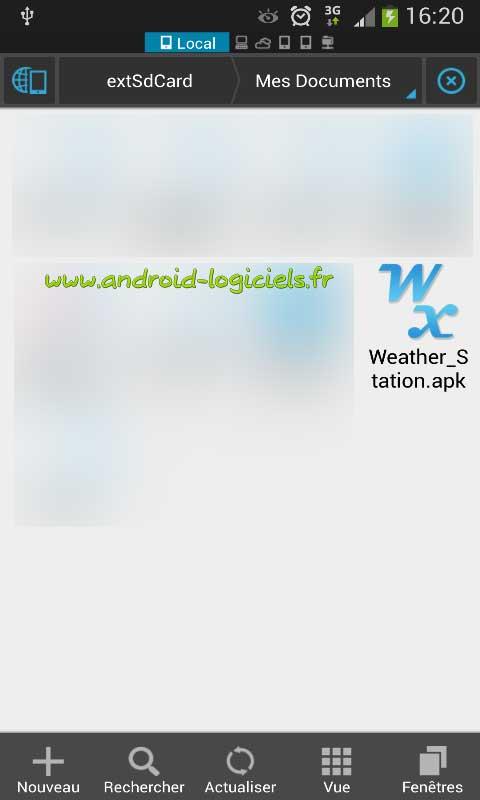 installer une application android manuellement android. Black Bedroom Furniture Sets. Home Design Ideas